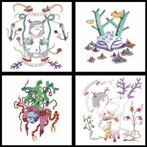 4 cartes Lilith